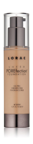 LORAC Sheer Porefection Foundation for aging skin