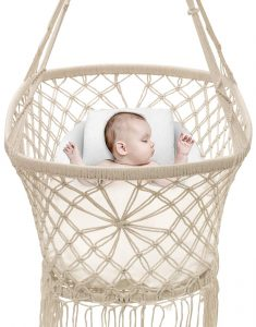 Sorbus Baby Crib Cradle, Hanging Bassinet and Portable Swing